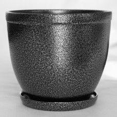 Glazed pot for flowers, 109-4