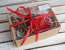 Damask beauty - gift set of handmade soap milotto