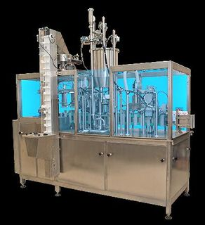 Packing-filling equipment, filling lines