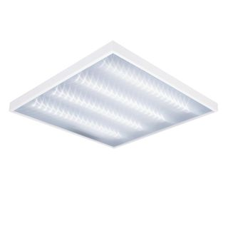 ARMSTRONG / LED ceiling lamp DELTA, 595x595x55, 36 W, 4000 K, 3900 Lm, prism