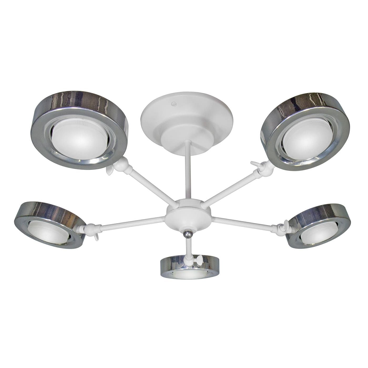 PETRASVET / Ceiling chandelier S2238-5, 5 * GX53, without LED lamps