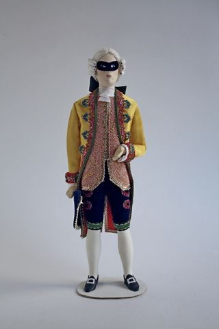 Suit Battista. The sketches of Bakst. Doll gift