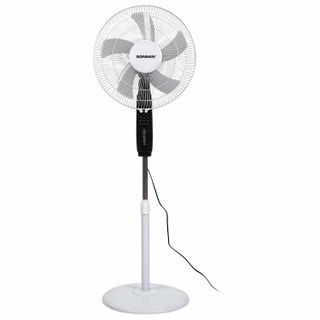 SONNEN / Floor fan, 3 modes, remote control, TF-45W-40-520, d = 40 cm, 45 W, white, 454788
