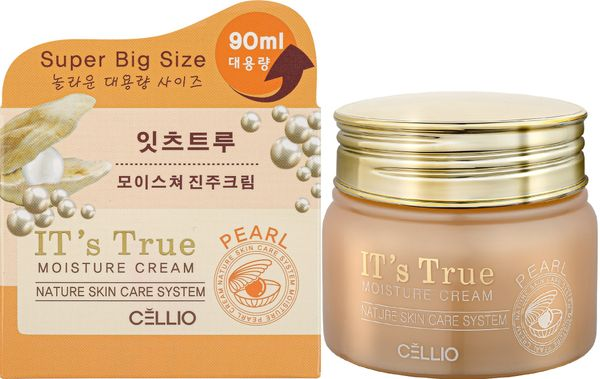 Moisturizer with pearl extract , IT'S TRUE , 90ml