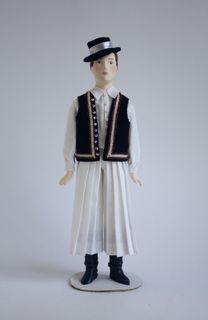 The male costume of the 20th century. Hungary. (Transdanubia).
