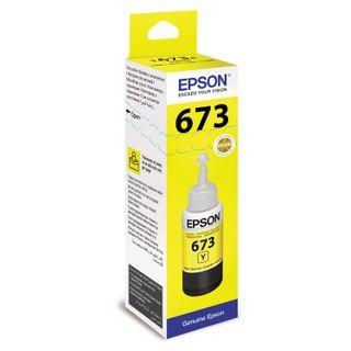 EPSON ink (C13T67344A) for Epson L800 / L805 / L810 / L850 / L1800 CISS, yellow, original
