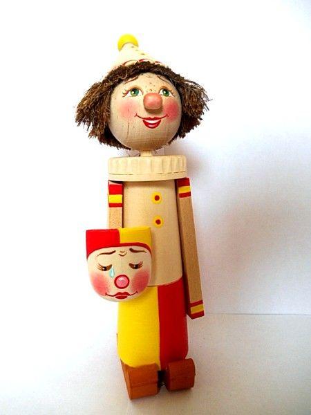 "Tver souvenirs / Clown ""Harlequin"""