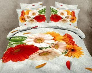 Satin bed linen 3D Gabriela
