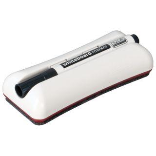 Eraser magnetic for magnetic marker boards (62х150 mm) + black marker 2x3 Duo