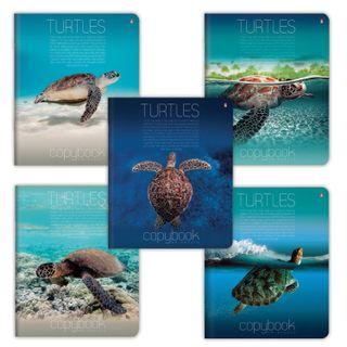 Notebook A5, 48 sheets, ALT, staple, cage, iridium,