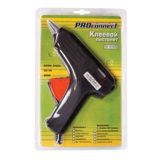 Glue pistol, 40 W, 11 mm rod, PROCONNECT, in blister