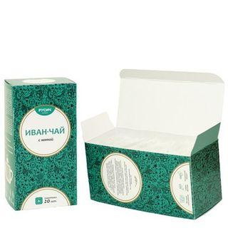 "Ivan-tea ""RUSICH"", tea bags, mint, 20X2 g"