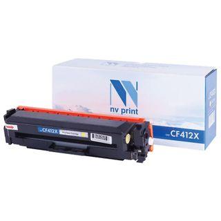 Toner Cartridge NV PRINT (NV-CF412X) for HP M377dw / M452nw / M477fdn / M477fdw, yellow, yield 5000 pages