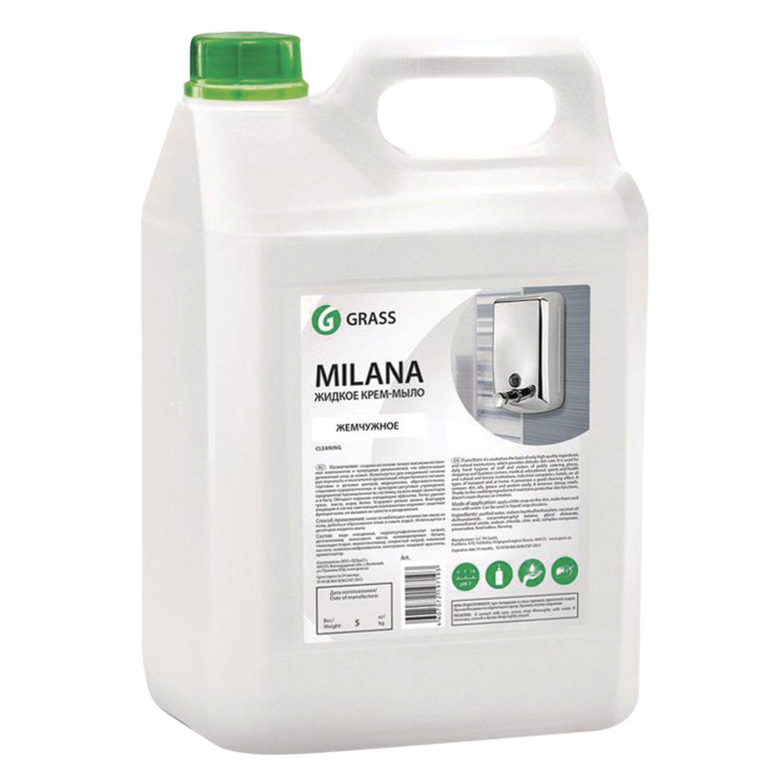 "Soap-cream liquid 5 l GRASS MILANA ""Pearl"""