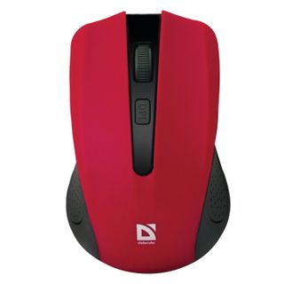 DEFENDER / Wireless mouse Accura MM-935, 3 buttons + 1 wheel-button, optical, red