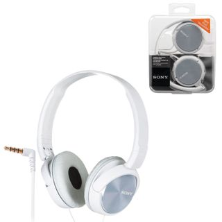 SONY / Headphones MDR-ZX310, wired, 1.2 m, stereo, oversized with headband, white