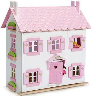 Puppet wooden house