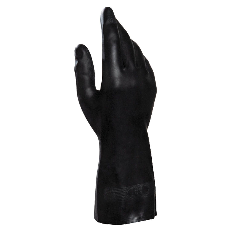 MAPA / Gloves latex-neoprene Technic / UltraNeo 401, cotton dusting, size 8 (M), black
