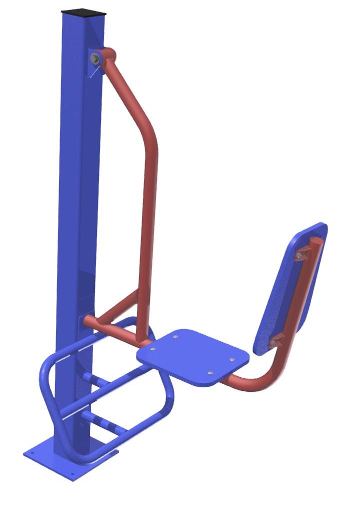 MB Barbell / Outdoor Strength Leg Press Machine