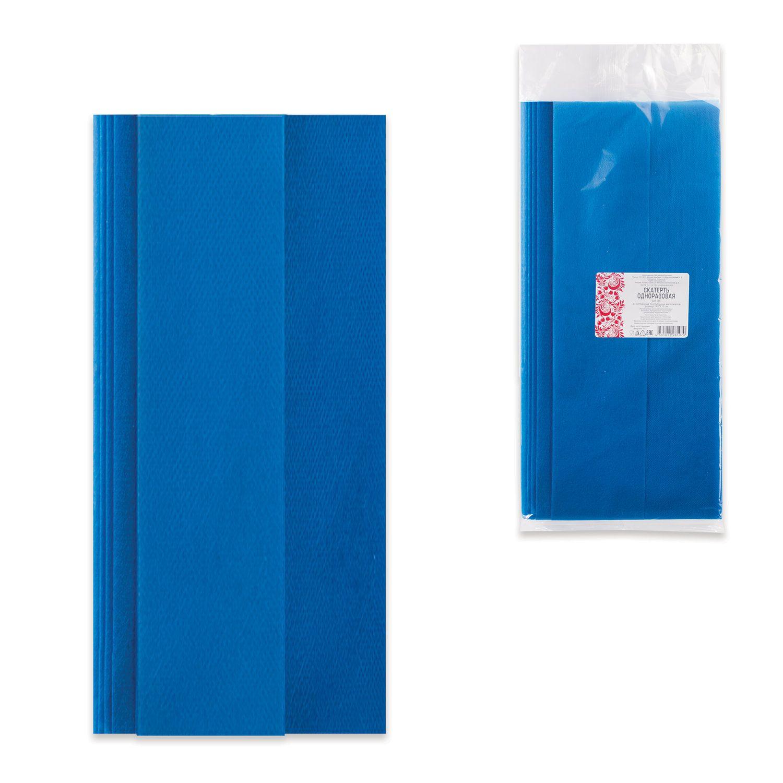 INTROPLASTICA / Disposable tablecloth, spunbond, 140x110 cm, blue