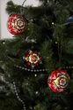 Christmas toy 'Ball', Khokhloma painting - view 1