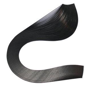 ISLAND OF TREASURES / Quilling paper black, 125 strips, 3 mm х 300 mm, 130 g / m2