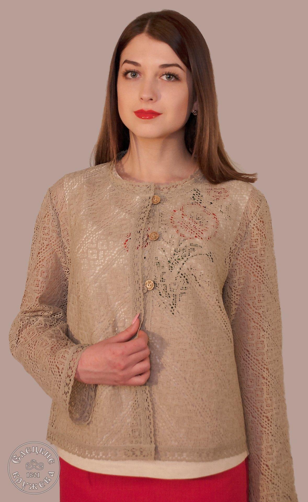 Yelets lace / Women's lace jacket С2220