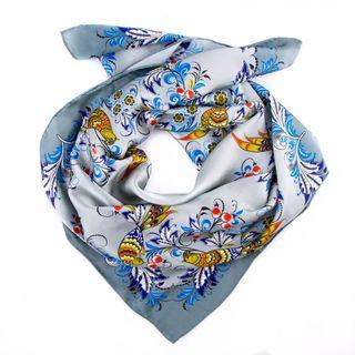 Natural silk shawl
