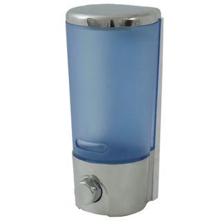 KSITEX / Dispenser for liquid soap in bulk, silver, 0.4 l