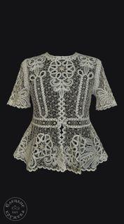 Women's chiffon blouse lace С1908