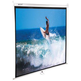 Projection wall screen (150x150 cm), matte, 1:1, BRAUBERG