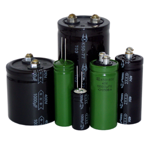 Oxidized-electrolytic aluminum capacitors K50-93
