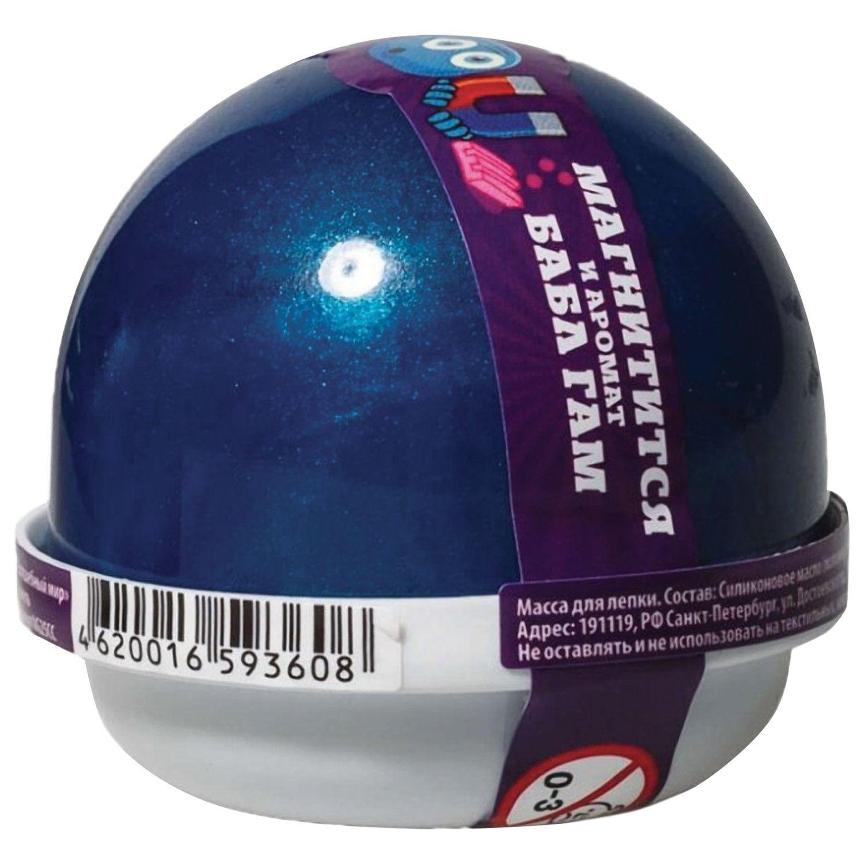 """Nano gum"" hand gum, magnetic, bubble-gam fragrance, 25 g, WORLD"
