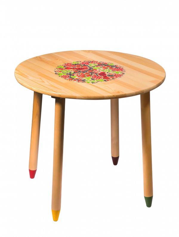 Table wooden 'Firefly' 580х650 mm