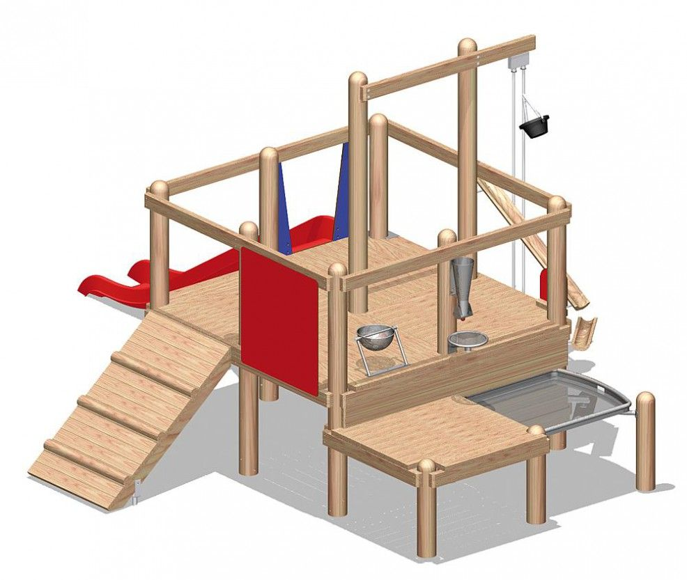 """Hercules / Children's playground for playing with sand """"Kairi"""""""