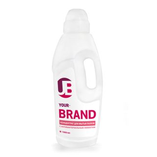Your brand concentrate for washing floors with antibacterial effect 1 liter.