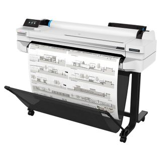 HP Designjet T525 36 (5ZY61A) A0 / A3 + Plotter, Network Card, WiFi, with stand