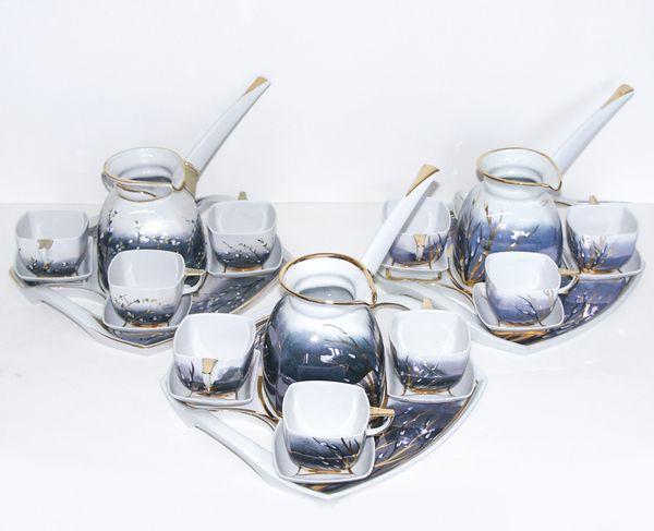 "Delta-X / Coffee set ""Quadro"", serial"