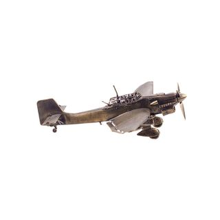 Model of STUKA dive bomber 1:72
