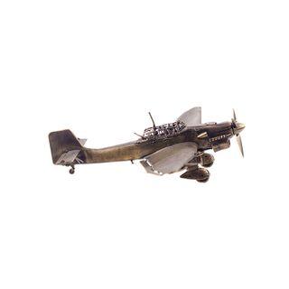 Model of STUKA dive bomber 1:72