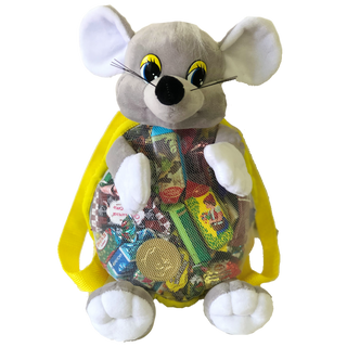 "New Year's gift Mouse ""Candy"" backpack, set of sweets 900g."