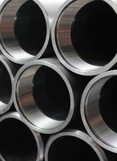 Electrowelded casing pipes with a diameter of 114-245 mm