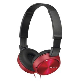 SONY / Headphones MDR-ZX310, wired, 1.2 m, stereo, full-size with headband, red