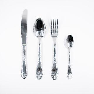 """Cutlery set """"Palatial"""" 24 objects, Pavlovsky plant"""