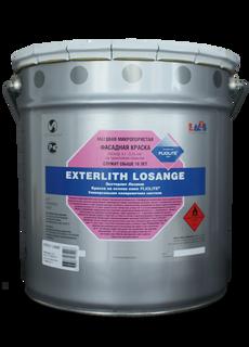 High-resistant facade paint EXTERLIT LOZANZH