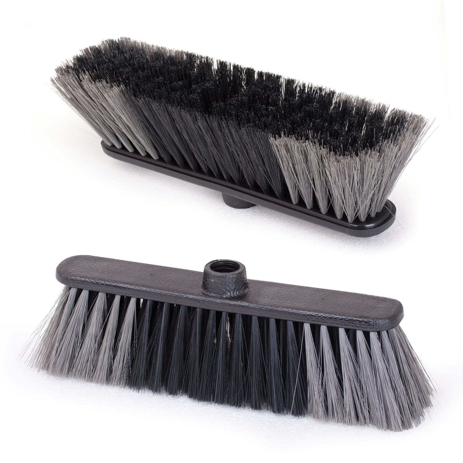 """IDEA / Brush """"Standard"""" for cleaning, width 27 cm, bristles 7 cm (two-color), plastic, Euro thread"""