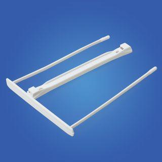 Mechanisms for Storozhevaya plastic FELLOWES (Bankers Box), set of 100 PCs., plastic, white