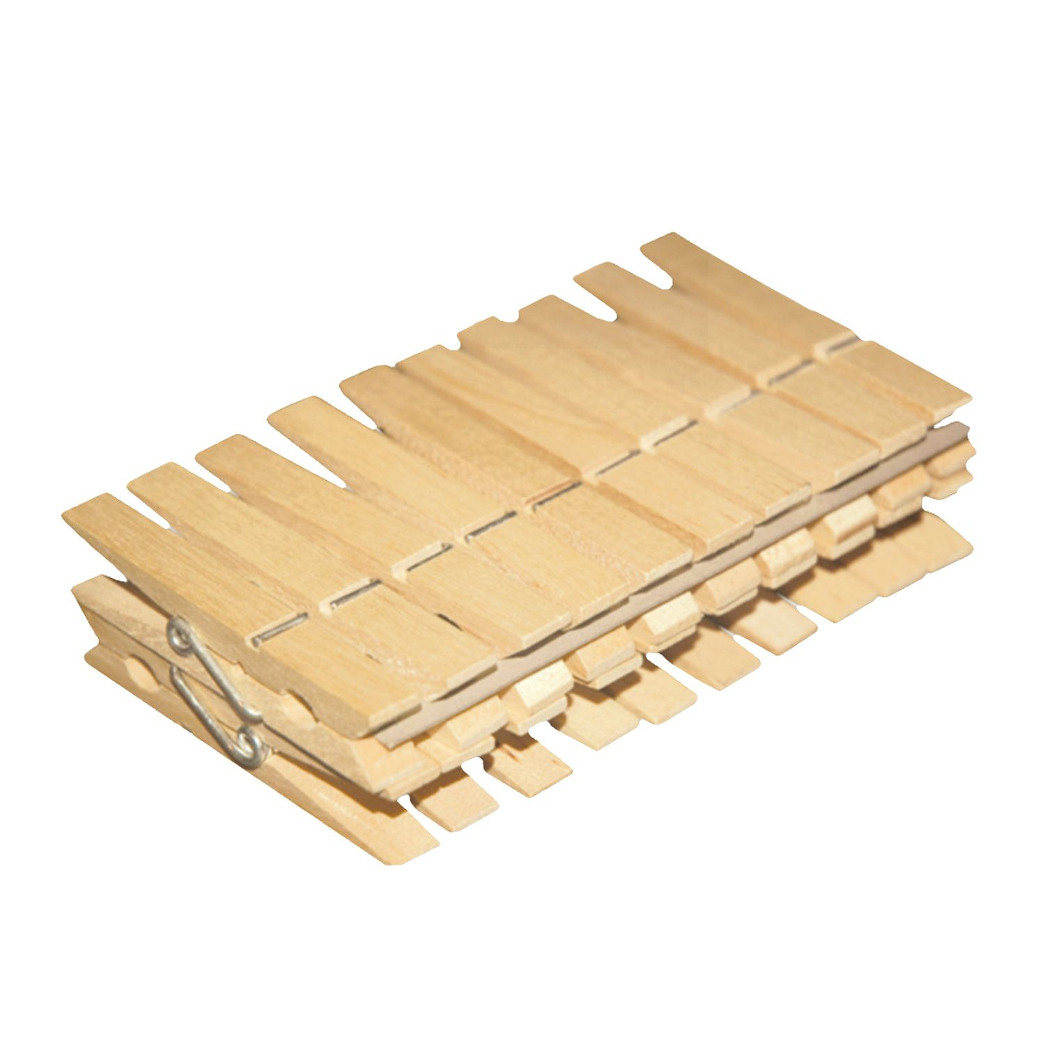 "YORK / Wooden clothespins ""Eco"" universal, set of 20 pcs."