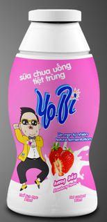 Drinking yoghurt - Strawberry flavor - YOBI brand