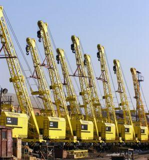Cranes railway diesel-electric КЖ-462, КЖ-562, КЖ-662